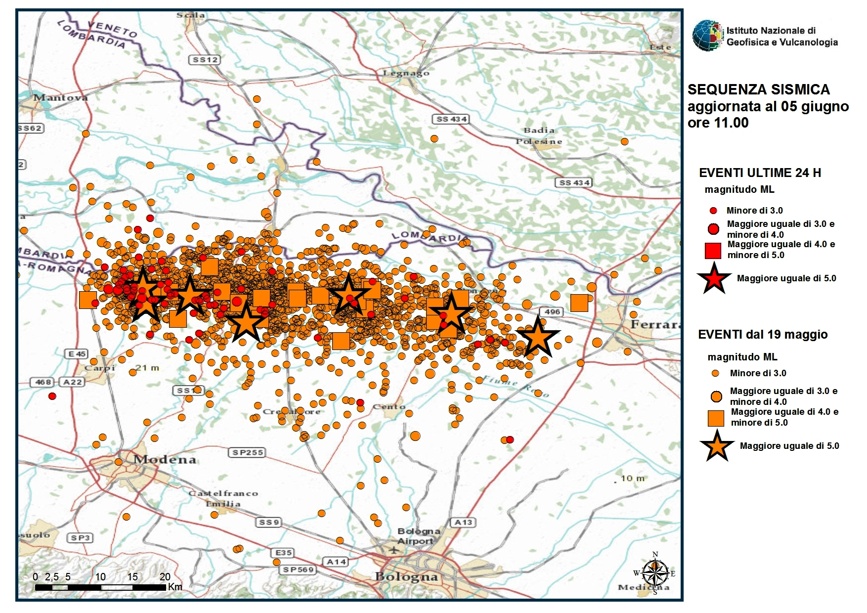 Map Of Italy Earthquake.Italy Earthquake Aftershock Map Earth Magazine