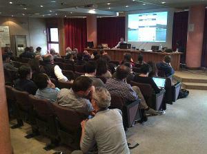 Sala Convegni INGV a Roma. Inizia il corso Rete Mobile
