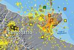 Sequenza del 2002 nel Molise e sismicità nel Gargano