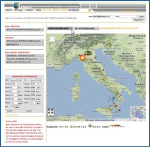 Il portale dei dati accelerometri ISMD dell'INGV