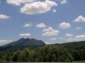 Figura 1 -Il caratteristico profilo del Monte Soratte