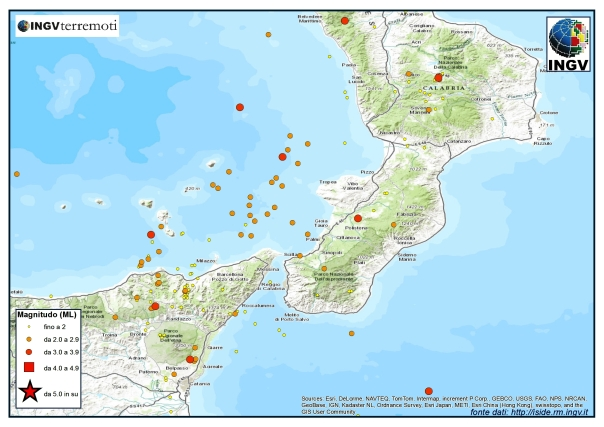 Alcuni eventi sismiciiii