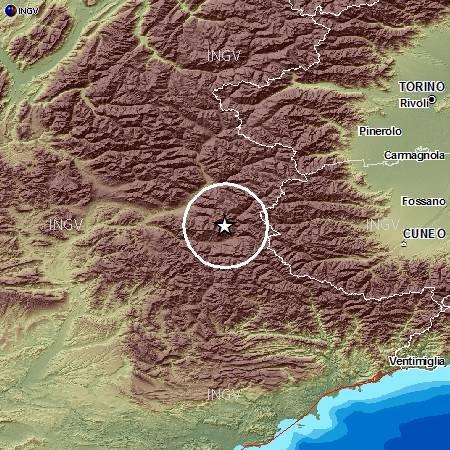 Terremoto avvertito a Torino
