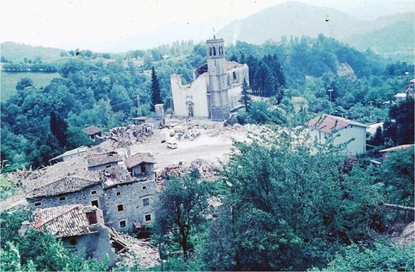 La devastazione a Forgaria nel Friuli (UD) [foto Diego Molin]