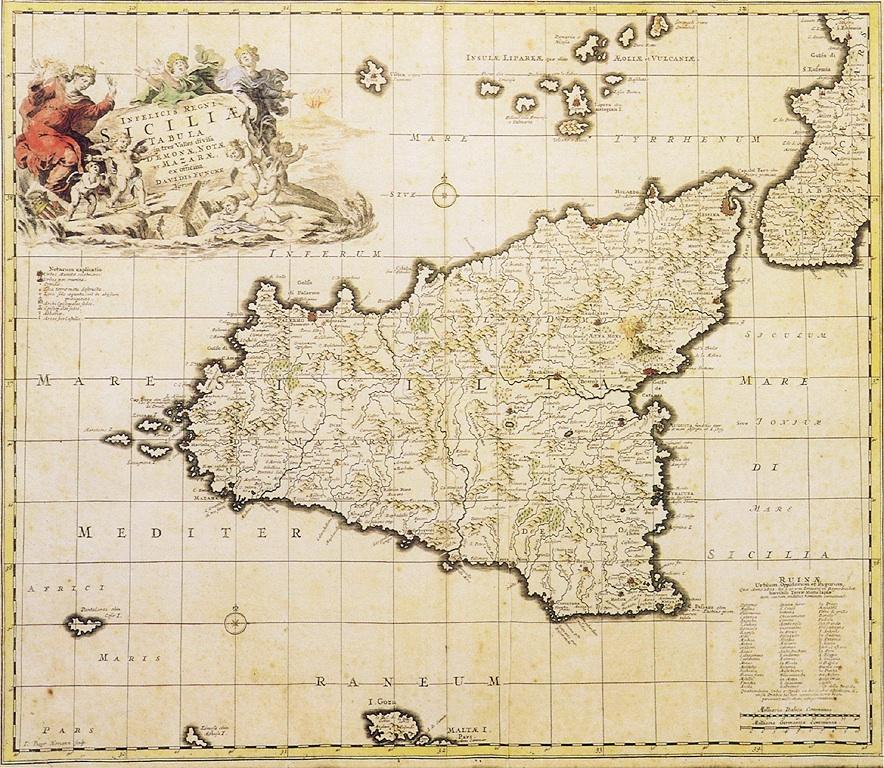 Il catastrofico terremoto di mw 74 dell11 gennaio 1693 nella siciliamappa1693 altavistaventures Gallery