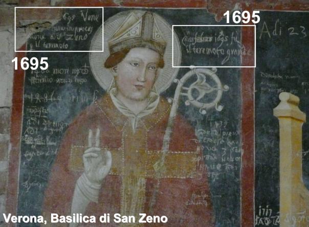 """Cattedrale di Treviso: epigrafe commemorativa dello """"scampato pericolo"""" http://lapicidata.wordpress.com/2015/02/20/treviso-tv-cattedrale/"""
