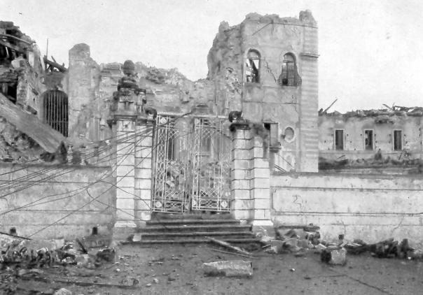 Messina: rovine della chiesa di San Gregorio.
