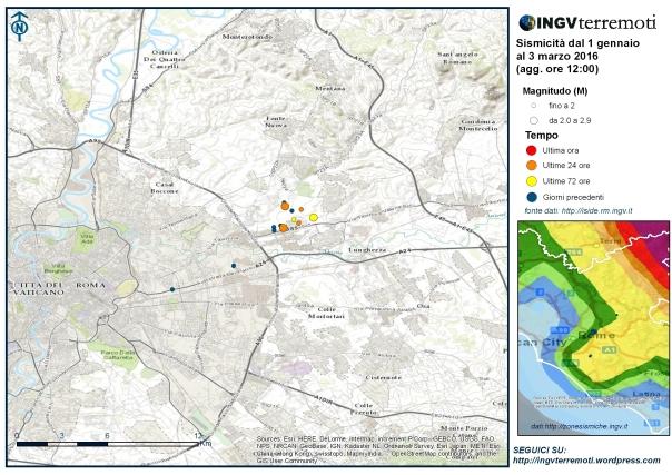 Sciame sismico in provincia di roma aggiornamento del 3 for Ingv lista terremoti di oggi