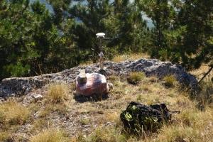 Una delle stazioni GPS usate per studiare il terremoto