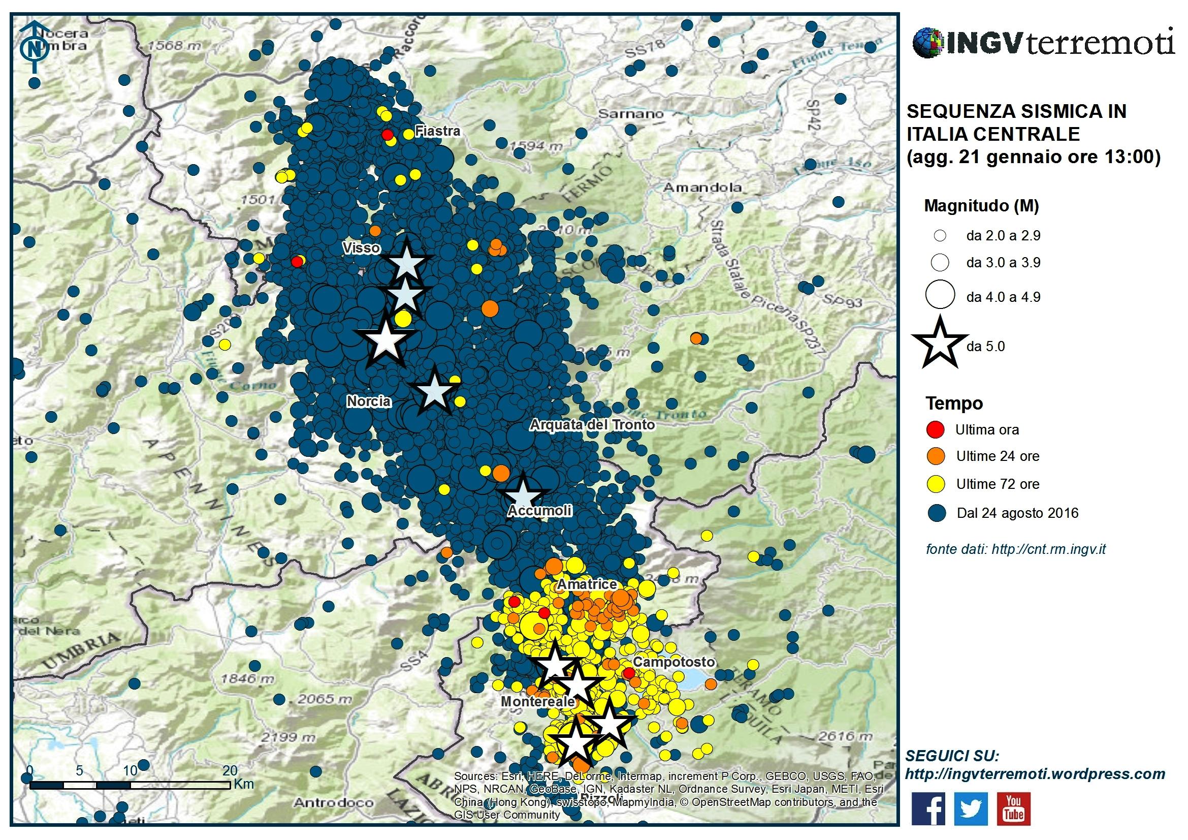 Terremoto, Ingv: 48.200 scosse dal 24 agosto