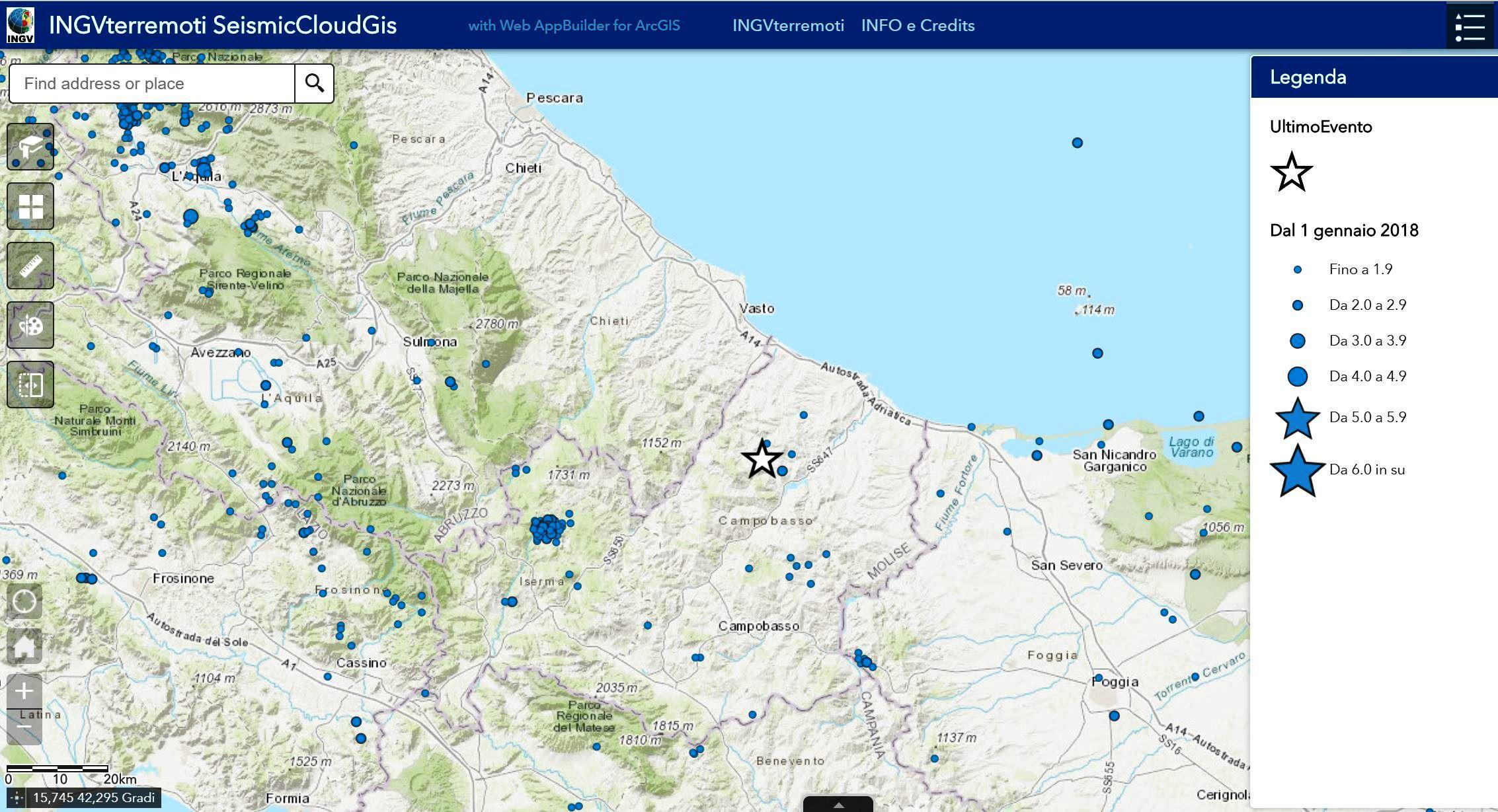Monitoraggio terremoti online dating
