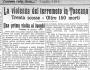I terremoti del '900: il terremoto del 29 giugno 1919 nelMugello